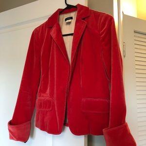 J. Crew Red Blazer